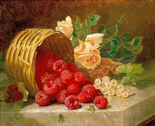 Painting Raspberries Roses by Eloise Harriet Stannart.jpg