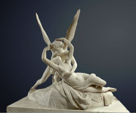 Sculpture Psyche Revived by Cupid's Kiss.JPG
