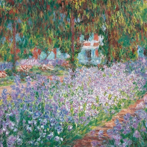 Garden in Giverny - painting by Claude Monet.jpg