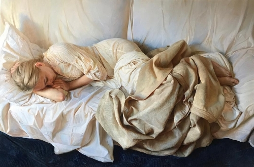 Serge Marshennikov Painting Women in Love 2.jpg